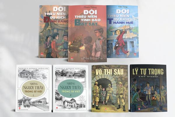 Những cuốn sách vun đắp lòng yêu nước, tự hào dân tộc cho người trẻ