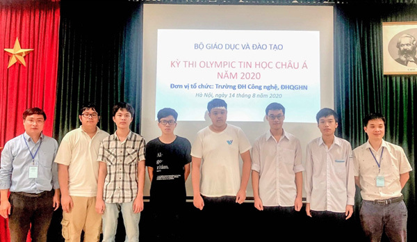 Vietnamese team bag six medals at 13th Asia-Pacific Informatics Olympiad