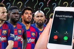 HLV Koeman gọi điện 'đuổi' Luis Suarez, Vidal khỏi Barca