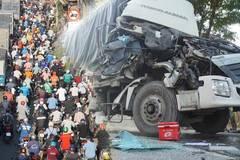 Ba ô tô tông liên hoàn, nghìn xe tê liệt trên quốc lộ 1