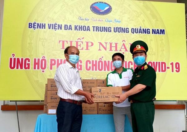 PureLac tiếp sức tuyến đầu chống dịch ở Đà Nẵng, Quảng Nam