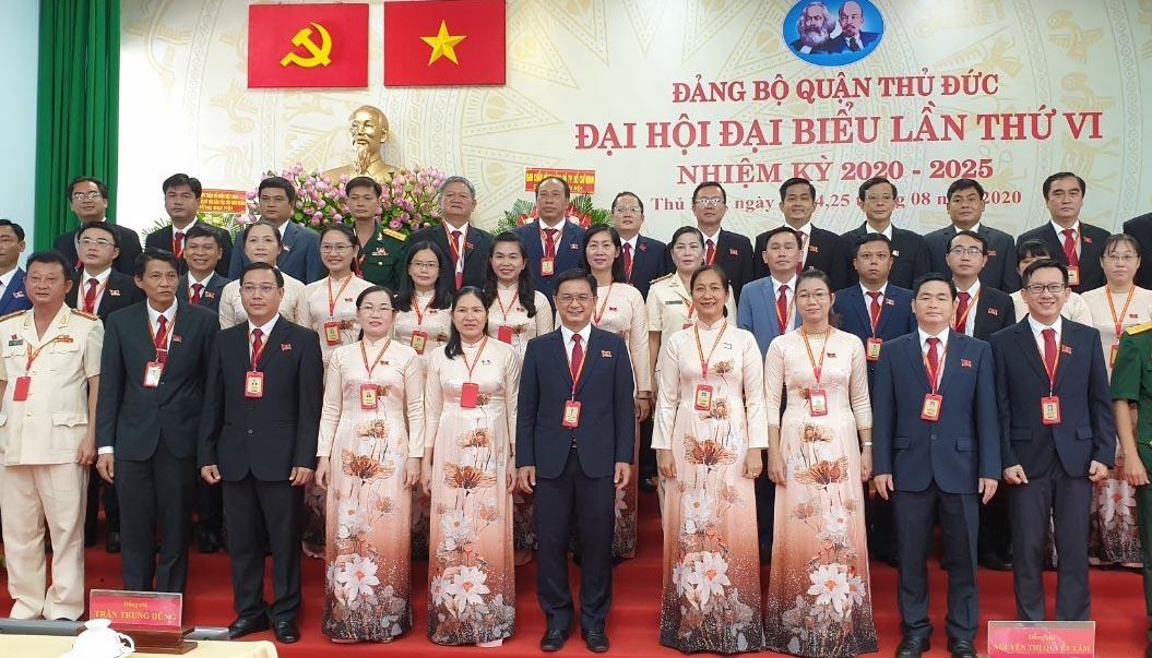 Ông Nguyễn Mạnh Cường tái đắc cử Bí thư Quận Thủ Đức