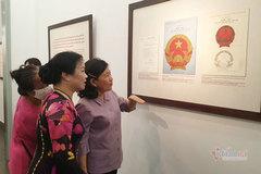 Giới thiệu gần 200 tài liệu về sự ra đời của Quốc huy Việt Nam