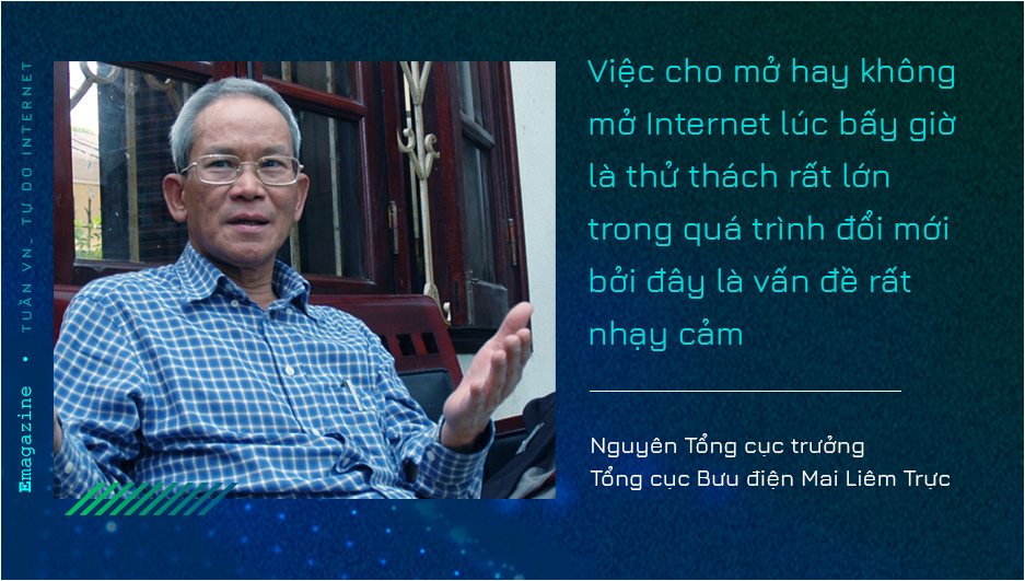 Meeting with PM Phan Van Khai opens way for Internet to enter Vietnam