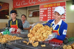 Vietnamese food: Squid cakes