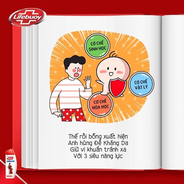 Bộ truyện tranh trẻ em về 'siêu nhân' đề kháng da