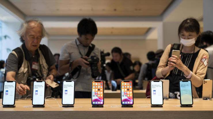 iPhone 5G và xu hướng làm việc online có thể khiến cổ phiếu Apple tăng cao