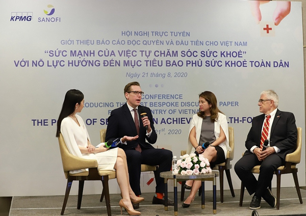 KPMG phối hợp Sanofi giới thiệu báo cáo độc quyền và đầu tiên về tự chăm sóc sức khỏe tại Việt Nam
