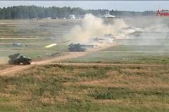 Dàn pháo dũng mãnh khai hỏa bên lề Army Games 2020