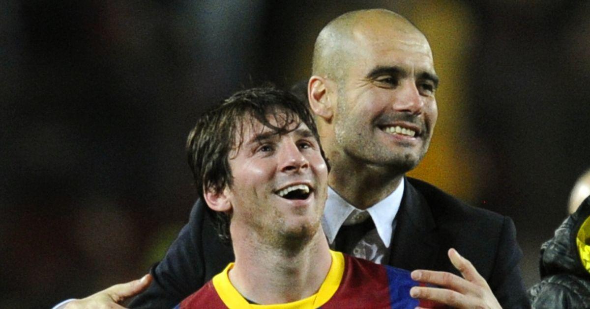 Messi nói chuyện với Pep Guardiola trước khi yêu cầu rời Barca