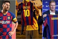 Tiết lộ sự thật gây sốc HLV Koeman nói với Messi