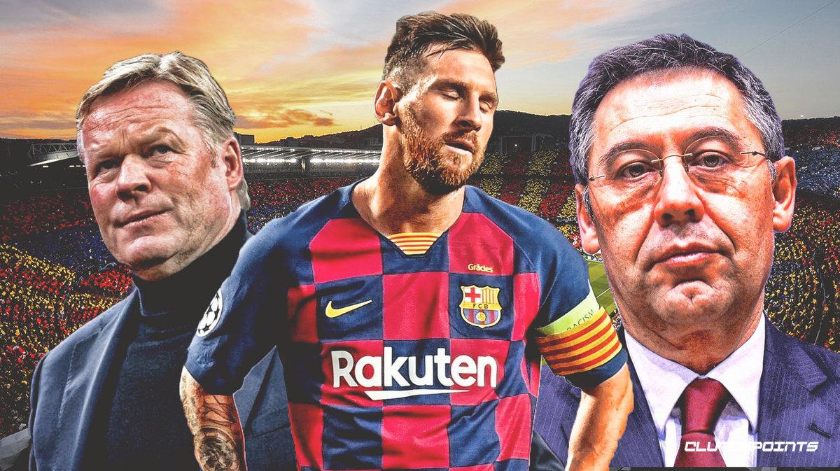 Messi bị ép rời Barca: Tình yêu đấu mưu hèn