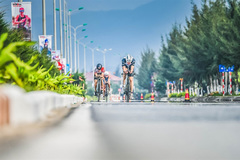 VN athlete racing to make the triathlon in SEA Games 31