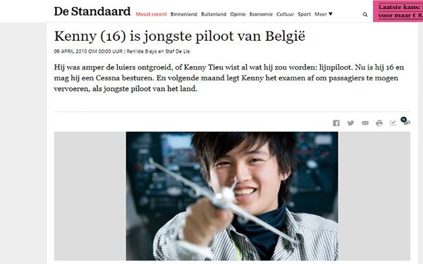 Từ phi công trẻ nhất Bỉ thành cơ trưởng của Vietjet