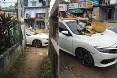 Những màn xử ô tô chắn lối vô tiền khoáng hậu ở Việt Nam