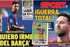 MU bán 9 cầu thủ, tiền khiến Messi ở lại Barca