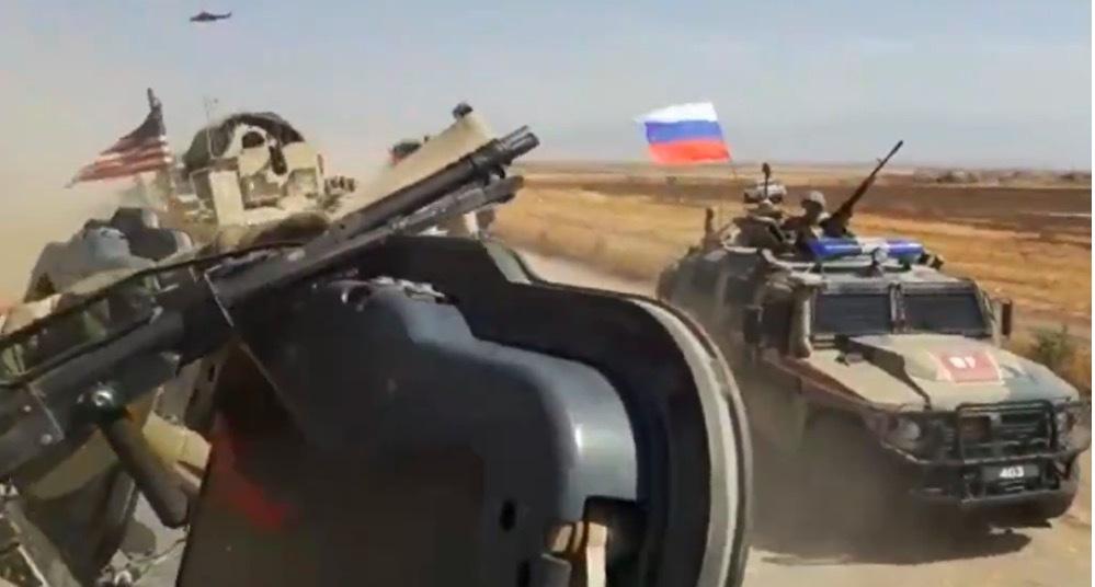 Binh sỹ Nga, Mỹ va chạm ở Syria