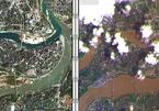 Ảnh vệ tinh cho thấy mức độ tàn phá khủng khiếp do lũ lụt tại Trung Quốc