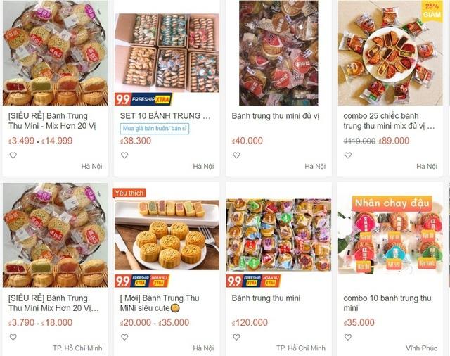 Nhan nhản bánh trung thu giá siêu rẻ, không rõ nguồn gốc trên chợ mạng