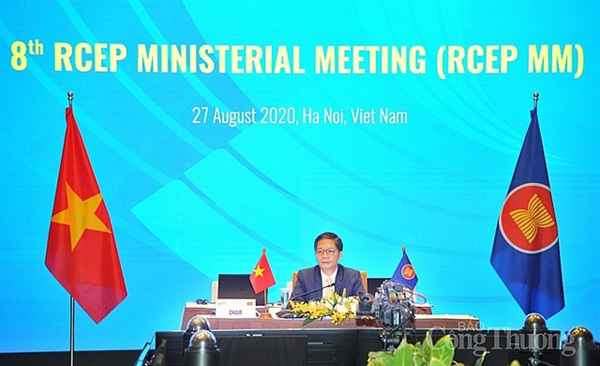 ASEAN + 5expect to sign RCEP Agreement in November