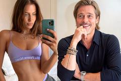 Brad Pitt hẹn hò với người mẫu kém 30 tuổi