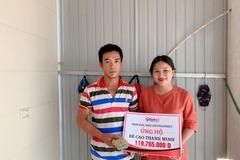 Trao gần 120 triệu đồng đến bé Cao Thanh Minh gặp nạn nguy kịch
