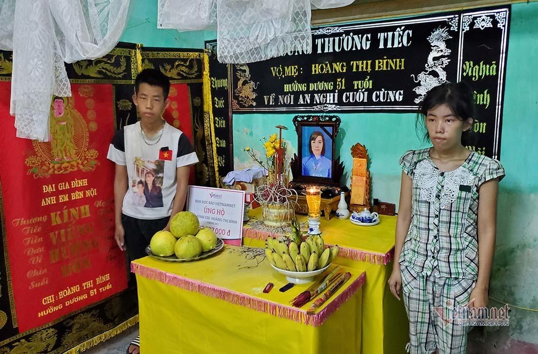 Trao 187 triệu đồng đến gia đình chị Hoàng Thị Bình