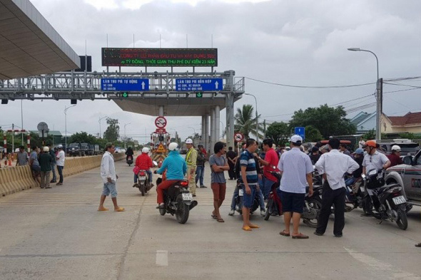 Bộ GTVT đề nghị xử nghiêm vụ hành hung nhân viên trạm BOT Ninh Xuân