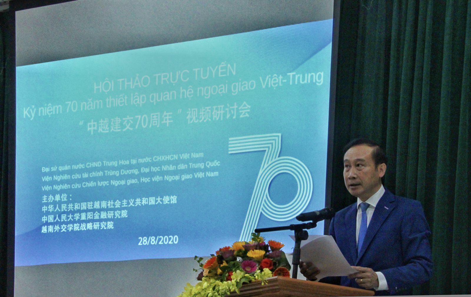 Quan hệ hữu nghị Việt - Trung mang lại những ý nghĩa của thời đại mới