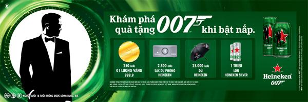 Ra mắt phiên bản giới hạn Heineken® James Bond