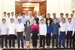 Bộ Chính trị cho ý kiến phương án nhân sự chuẩn bị đại hội Đảng 12 tỉnh thành
