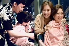 Mẹ Trấn Thành bật khóc khi nhận quà sinh nhật từ Hari Won