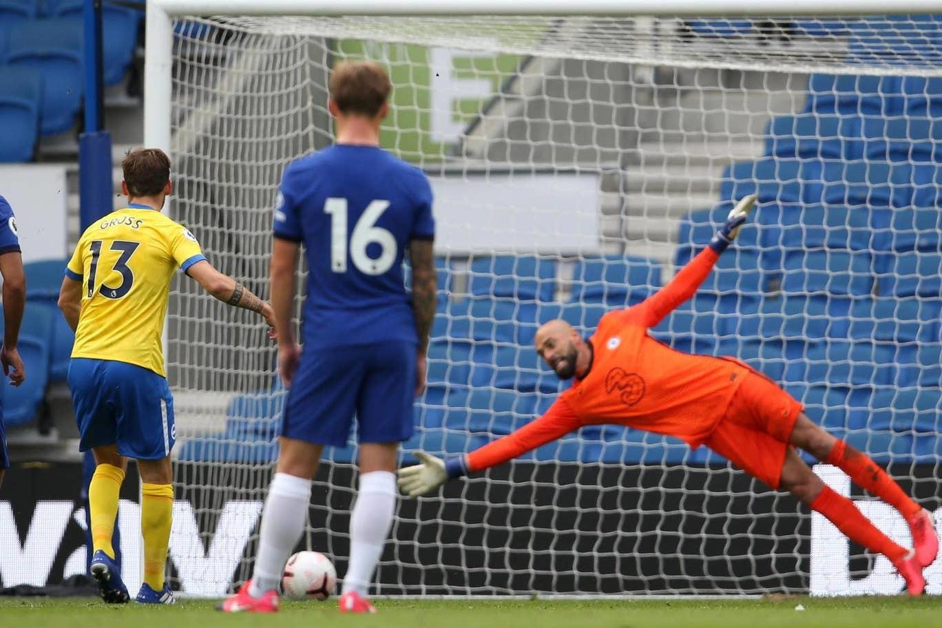 Timo Werner ghi bàn ngay trận ra mắt Chelsea