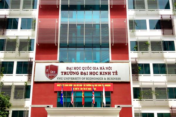 Trường ĐH Kinh tế (ĐH Quốc gia Hà Nội) lấy điểm sàn cao nhất là 18