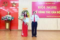 Công bố quyết định của Bộ Chính trị về công tác cán bộ ở Quảng Ngãi