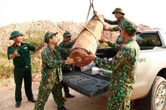 Quang Ninh: 450-kilo bomb unearthed