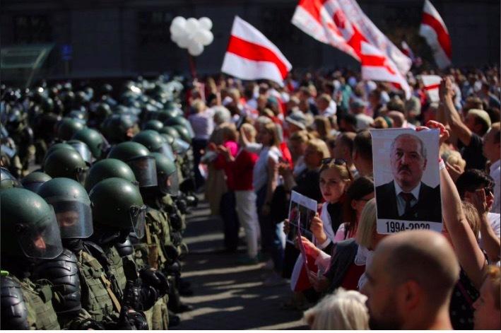 Biểu tình lớn ở Belarus