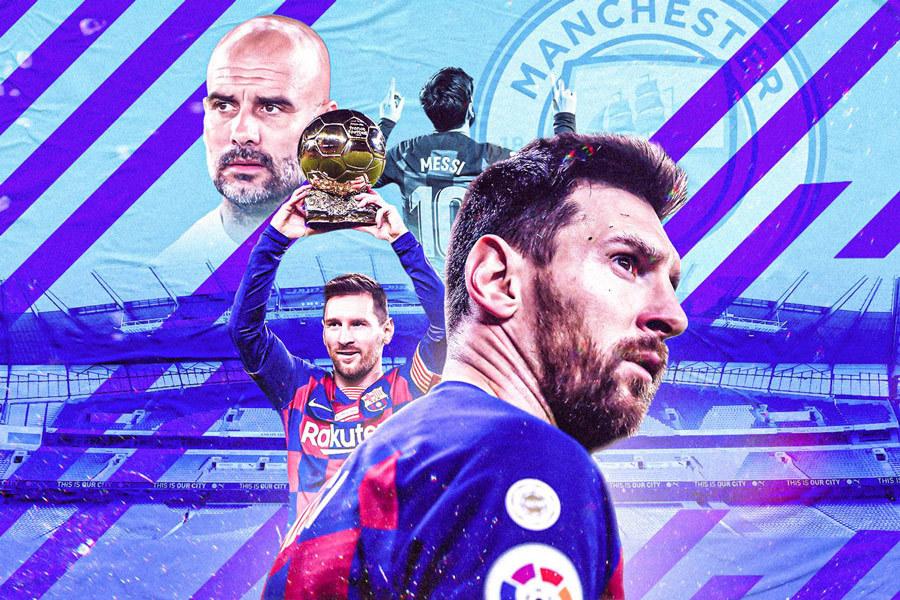 Messi muốn về Man City: Vì Pep, và giấc mơ Cúp C1