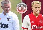 Solskjaer nói gì khiến Van de Beek phũ Barca, ký ngay MU