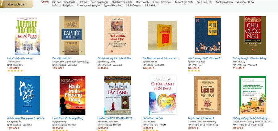 Hơn 1.000 xuất bản phẩm giới thiệu tại triển lãm sách trực tuyến