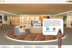 Công nghệ tương tác mới tại triển lãm sách trực tuyến