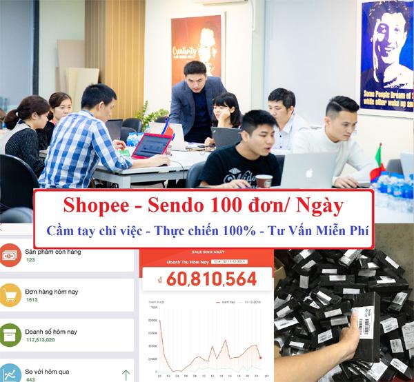 Học bán hàng 'nghìn đơn' trên sàn thương mại điện tử