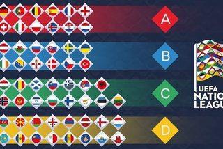 Bảng xếp hạng Nations League mới nhất