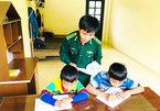 Border soldiers fosterdisadvantaged children