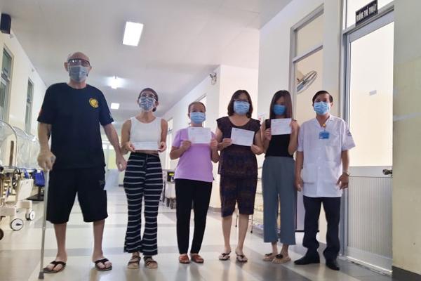 Năm bệnh nhân Covid-19 ở TP.HCM được xuất viện