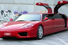 Siêu xe Ferrari độ thành limousine nhanh nhất thế giới cực chất