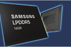 Samsung bắt đầu sản xuất hàng loạt chip LPDDR5 16 GB đầu tiên trên thế giới