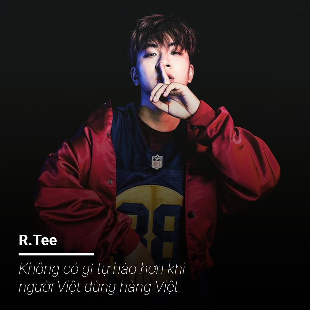 R.Tee hát xẩm gây bão Rap Việt lên tiếng khi bị so sánh với Đen Vâu