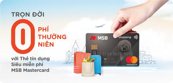 MSB đa dạng hóa trải nghiệm khách hàng với 4 dòng thẻ tín dụng