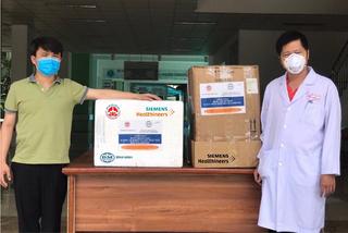 Bệnh viện Đà Nẵng nhận hỗ trợ ứng phó dịch Covid-19